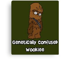 Genetically Confused Wookiee   ThereGoesLucie Canvas Print