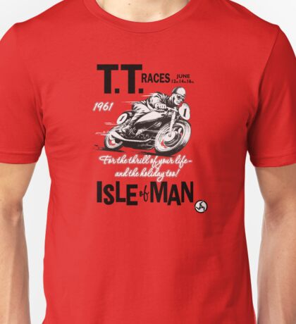 Isle Of Man TT 1961 Unisex T-Shirt