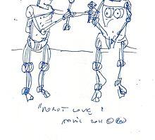 ROBOT LOVE(C2012) by Paul Romanowski