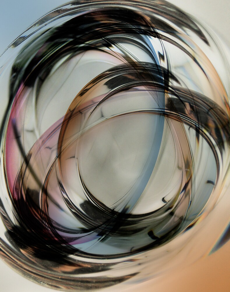 Paper Weight Multiple Exposure - Color by Robert Baker