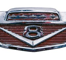 Ford V8 Emblem by mrdoomits