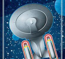 Star Trek - To Boldly Go II by Carl Huber