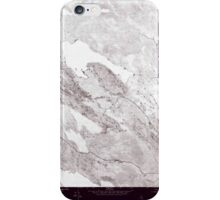 Maine USGS Historical Map Scraggly Lake SE 807132 1975 24000 Inversion iPhone Case/Skin