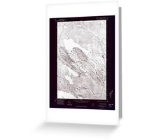 Maine USGS Historical Map Scraggly Lake SE 807132 1975 24000 Inversion Greeting Card