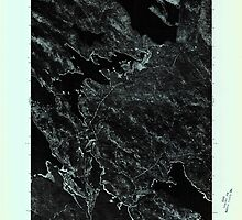 Maine USGS Historical Map Scraggly Lake SW 807133 1975 24000 by wetdryvac