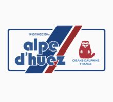 Alpe D'Huez Cycling Mountain Marmotte Beaver T-Shirt