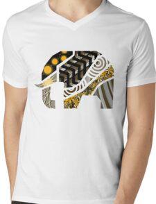 Elephanto... Mens V-Neck T-Shirt