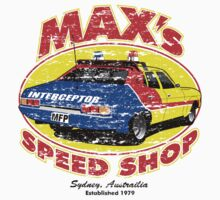 Mad Max's Speed shop