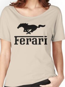 Funny Ferrari Shirt Women's Relaxed Fit T-Shirt