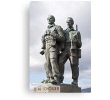 the commando memorial Canvas Print