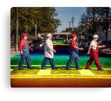 SexyMario - Rainbow Road Canvas Print