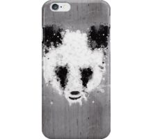 panda paint iPhone Case/Skin