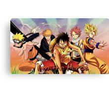 Animes Best Of Canvas Print