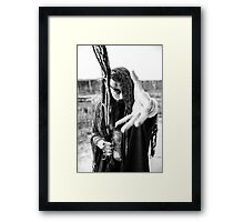 DEATHLY DAZE  Framed Print