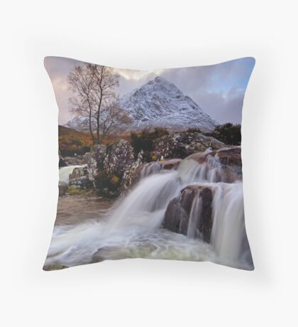 Signs of winter Throw Pillow