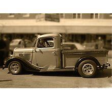 Old Ute Photographic Print