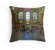 Grand Central Station. Throw Pillow
