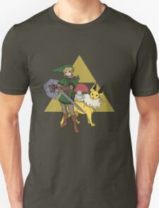 Link and Jolteon T-Shirt