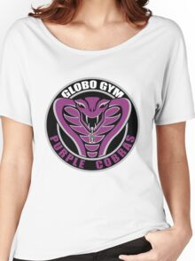 Globo Gym Purple Cobras Women's Relaxed Fit T-Shirt