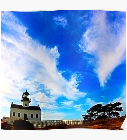Old Point Loma Lighthouse at Cabrillo National Monument Poster