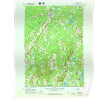 Maine USGS Historical Map Searsmont 807135 1960 24000 Poster