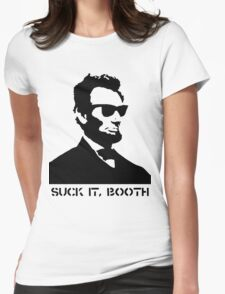 Abraham Lincoln Suck It Booth Womens Fitted T-Shirt