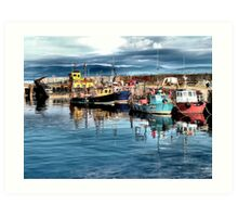 Cromarty Harbour Art Print