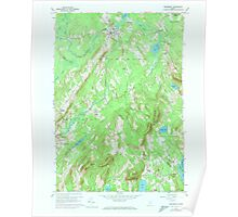 Maine USGS Historical Map Searsmont 807136 1960 24000 Poster