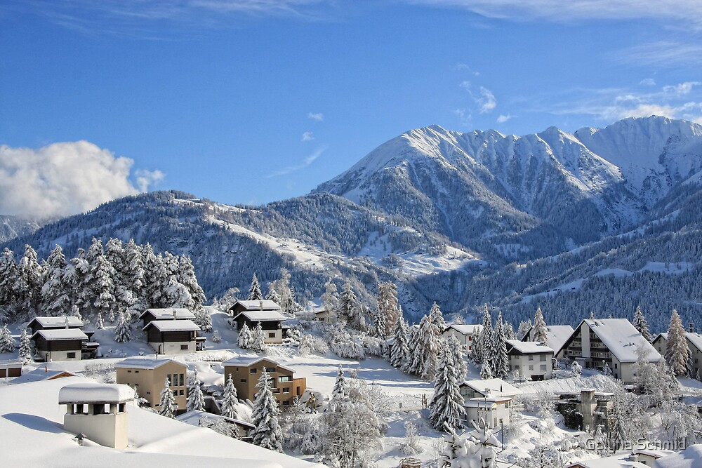 Switzerland, Laax by Galyna Schmid