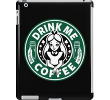 Drink Me Coffee iPad Case/Skin
