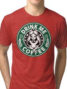 Drink Me Coffee Tri-blend T-Shirt