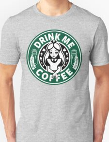 Drink Me Coffee Unisex T-Shirt