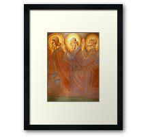Holy Men  Adoring Framed Print