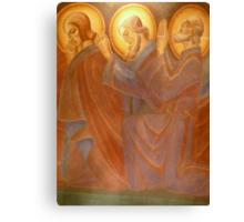 Holy Men  Adoring Canvas Print