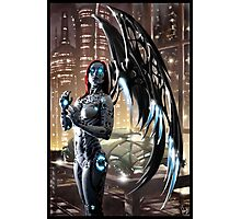 Robot Angel Painting 009 Photographic Print