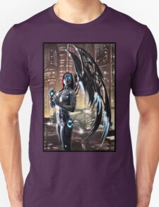Robot Angel Painting 009 T-Shirt