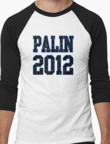 Palin 2012 Men's Baseball ¾ T-Shirt