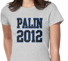 Palin 2012 Womens Fitted T-Shirt