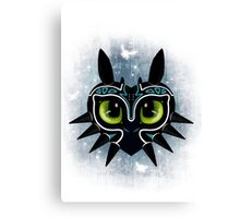 Toothless Mask Canvas Print