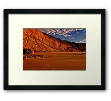 """Deserted at Dawn"" Framed Print"