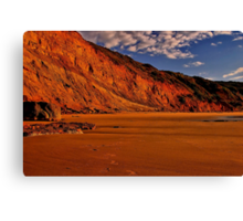"""Deserted at Dawn"" Canvas Print"