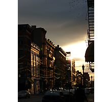 Sunset on 12th Photographic Print