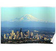 Rainier Beyond Seattle Poster