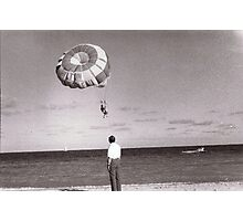 man on the Beach Photographic Print