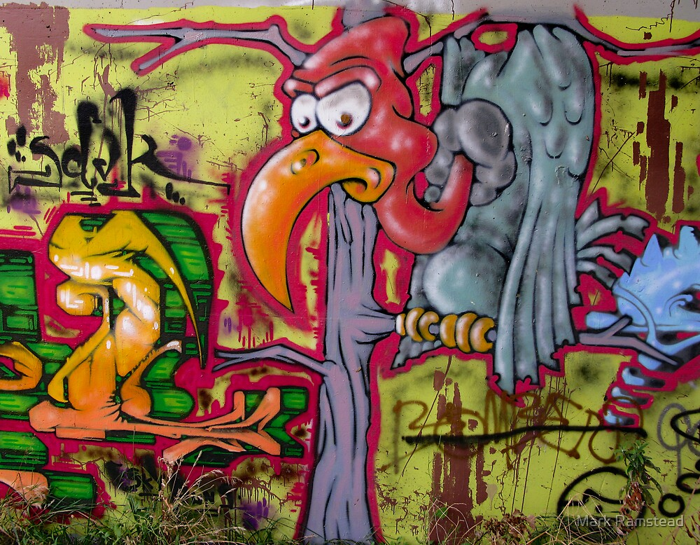 Graffiti Vulture by Mark Ramstead
