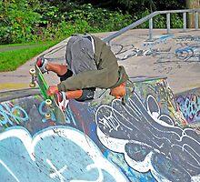 skateboarding by stevenburns4