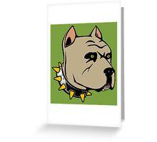PIT BULL-2 Greeting Card