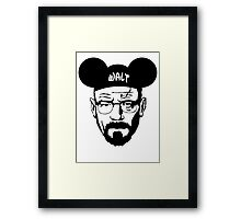WALT MOUSE EARS Framed Print
