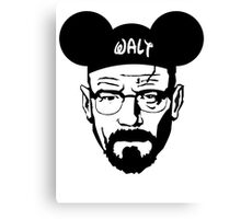 WALT MOUSE EARS Canvas Print