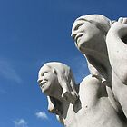 Sculptures by Gustav Vigeland, Oslo by Cvail73
